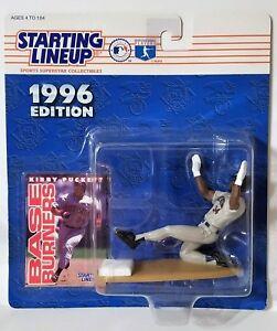 1996 Starting Lineup Kirby Puckett Minnesota Twins SLU Kenner Sports Figure
