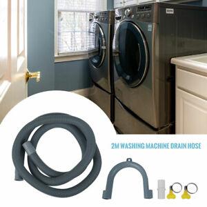 KIT EXTENSION TUYAU VIDANGE UNIVERSEL pr Lave-linge & Lave-vaisselle 2M SH