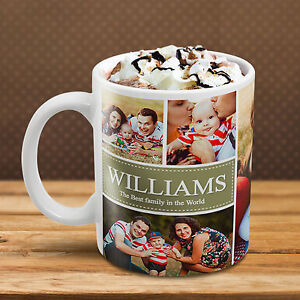 Image Is Loading Mother 039 S Day Personalised Collage Mug Photo