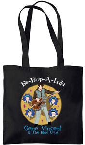 Gene Vincent - Be-Bop-A-Lu-La - Tote Bag (Jarod Art Design)