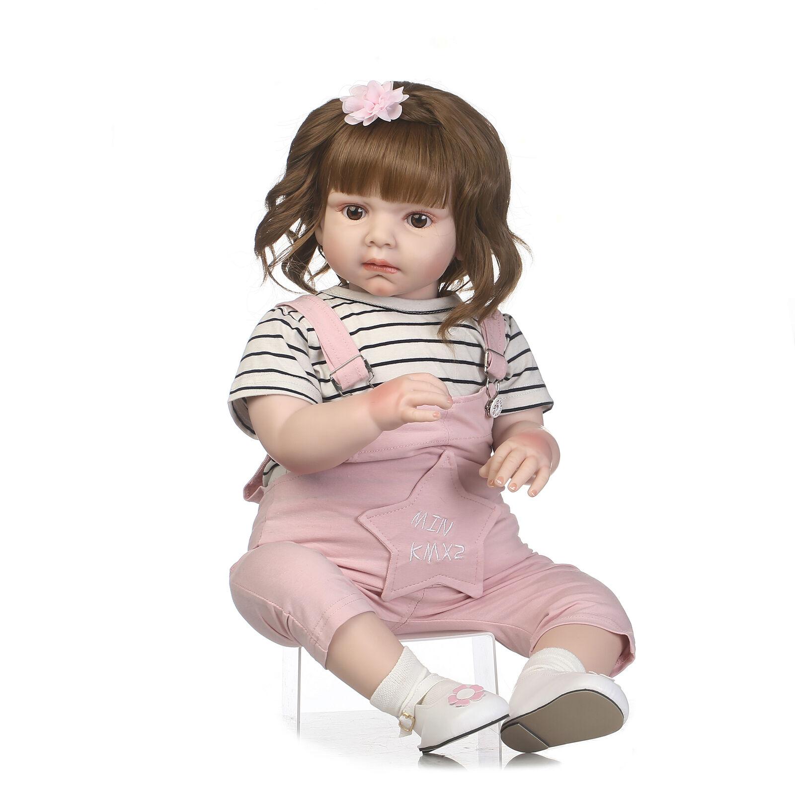 28  Muñeca Reborn Bebé niñas niño suave Viny realista Juguetes Infantiles Regalo hecho a mano