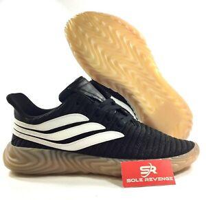 72f1bc6093b NEW! adidas Originals SOBAKOV SHOES AQ1135 Core Black   White Gum a1 ...