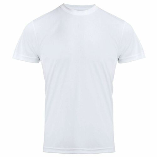 Mens Plain Short Sleeve Crew Neck T Shirt Adults Chefs Hotel Bars Work Wear Vest