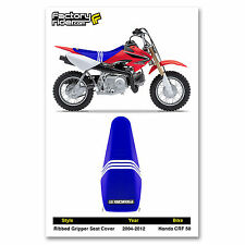 2004-2012 HONDA CRF 50 TLD RIBBED SEAT COVER BY Enjoy MFG