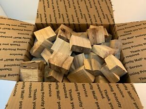 Red Oak Wood Chunk for Smoking BBQ Grilling Cooking Smoker Priority Shipping