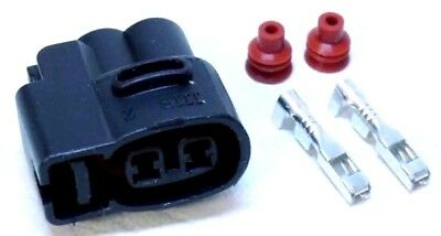 1 x Ignition Coil 2 Pin Connector Plug 1JZ 2JZ GTE Toyota Supra MK3 1UZ 4AG Wire