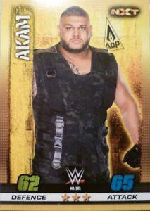10th Edition-Nº 195-Drew Mclntyre-NXT Wwe Slam Attax