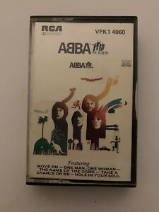 ABBA-The-Album-Cassette-Tape-1977-RCA-VPK1-4060-Rare-Original-Cassette