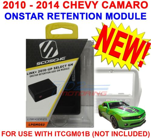 ONSTAR MODULE  />ONLY/< FOR THE SCOSCHE ITCGM01B 2010-2014 CHEVROLET CAMARO BEZEL
