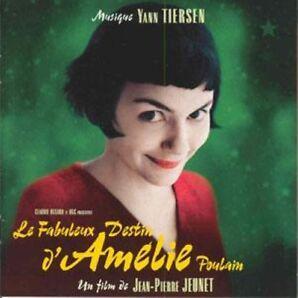 DIE FABELHAFTE WELT DER AMELIE SOUNDTRACK CD NEU & OVP (FILMMUSIK YANN TIERSEN)