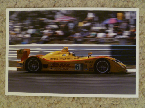 "2006 Porsche LM2 RS Spyder Postcard Large 9/"" x 6/"" RARE! Awesome L@@K"