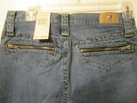 $59 Authentic Tommy Hilfiger Tommy Jeans Zippered Pocket Detail Size 9