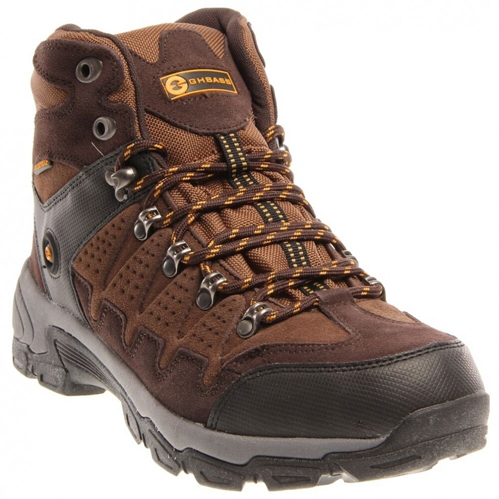 NEW GH BASS EARTHSMART JERICHO Stivali Hiking Hiking Stivali Trail Uomo 11 WATERPROOF  140 NIB 5fc82f