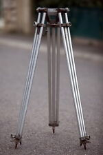 TREPIED PIED METAL CINEMA MOVIE TRIPOD FOR CAMERA SUPPORT EQUIPMENT LONG LEGS