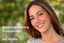 Profi Bleaching Gel Set, Gr.L, Zahnweiß Zahnaufhellung Weiße Zähne Zahnbleaching