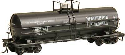 HO KADEE 9015 MATHIESON CHEMICALS ACF 11,000 Gal Insulated Tank Car SHPX # 2570
