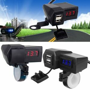 Waterproof-Motorcycle-Handlebar-Charger-Adapter-With-Dual-USB-For-Mobile-Phone