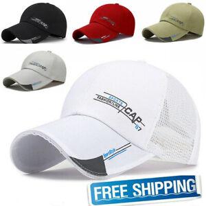Quick Dry Waterproof Men Sport Duck Tongue Sun Hat Outdoor Space Baseball cap