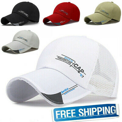 Outdoor Adjustable Space Baseball Cap Quick Dry Sport Duck Tongue Sun Hat-WI