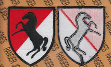 US Army 11th Armored Cavalry Regiment ACR BLACKHORSE ACU 3.50 inch patch