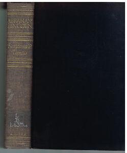 Abraham-Lincoln-by-Benjamin-Thomas-1952-1st-Edition-Civil-War-Vintage-Book