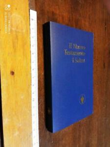 LIBRO:IL NUOVO TESTAMENTO I SALMI-TESTIMONI DI GEOVA 2004