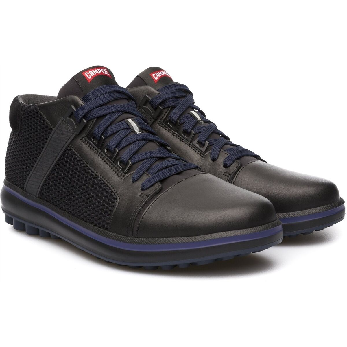 Mens Camper Shoes Black Pelotas Unball Sneakers Casual Trainers NEW