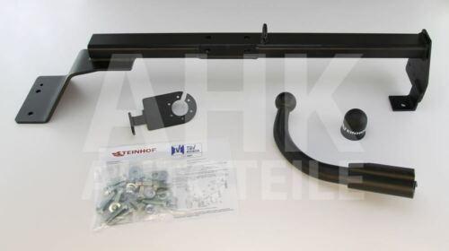 Fiat Bravo 3-Tür Anhängerkupplung starr+ES 7p ABE