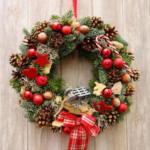 Ebay Weihnachtsdeko.Details Zu Turkranz Weihnachten Turkranze Weihnachtsdeko Weihnachtsdekoration Turdeko Natur
