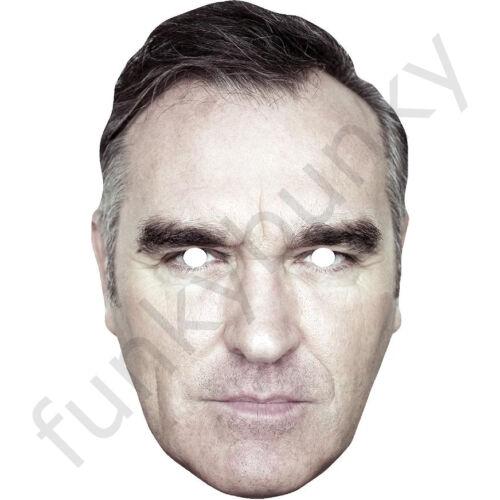 THE SMITHS 80s All Masks Pre-Cut Morrissey Celebrity Singer Card Face Mask