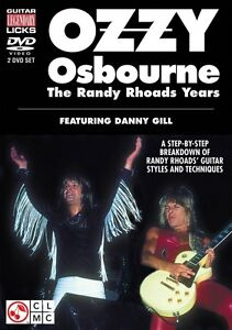 100% De Qualité Ozzy Osbourne The Randy Rhoads Years Une Ventilation De Randy Rhoads 'guit 002501301-afficher Le Titre D'origine Belle Et Charmante