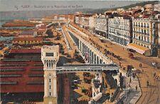 BF35840 boulevard de la republique et les quais  alger algeria  front/back scan