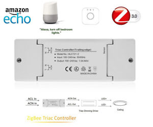 Details about AC110V-220V ZIGBEE ZLL LED Triac Dimmer Controller compatible  Echo Plus Alexa