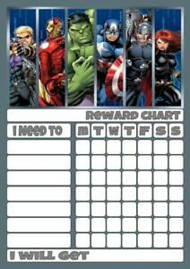 NINJAGO REWARD CHART free stars /& pen 3 Sizes Magnetic option