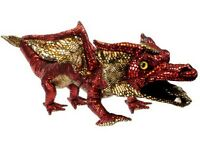Shiny Red Dragon Puppet By The Puppet Company