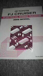 2009 Toyota FJ Cruiser Electrical Wiring Diagram Manual ...
