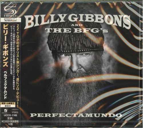 BILLY GIBBONS-PERFECTAMUNDO-JAPAN SHM-CD F83