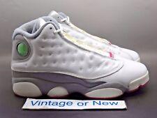 ad890ba37e0ca8 Girls  Nike Air Jordan XIII 13 White Spark Stealth Retro GS 2011 sz ...