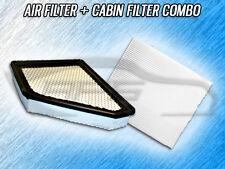 Air Filter 12820005 Cabin Filter 81909007 for Chevy Equinox /& GMC Terrain