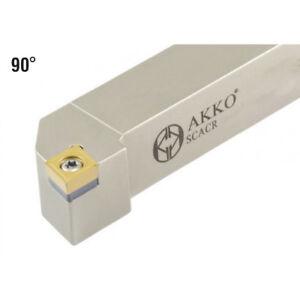 Akko-Portaherramientas-Scacr-1010-E06-10x10-mm-Iso-Insertos-Ccmt-0602-Nuevo