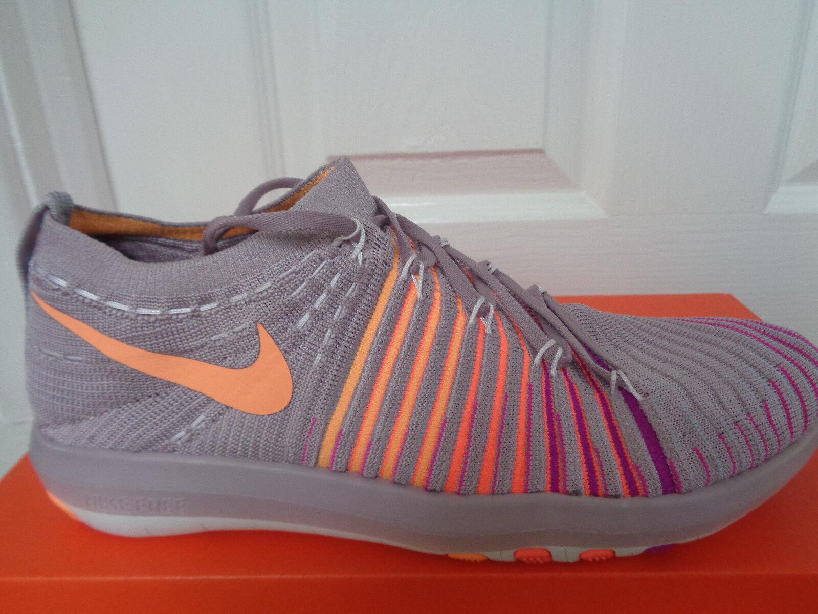 Nike Free Transformer Flyknit Baskets Chaussures 833410 502 UK UK UK 6 EU 40 US 8.5 Neuf + Boîte b503cb