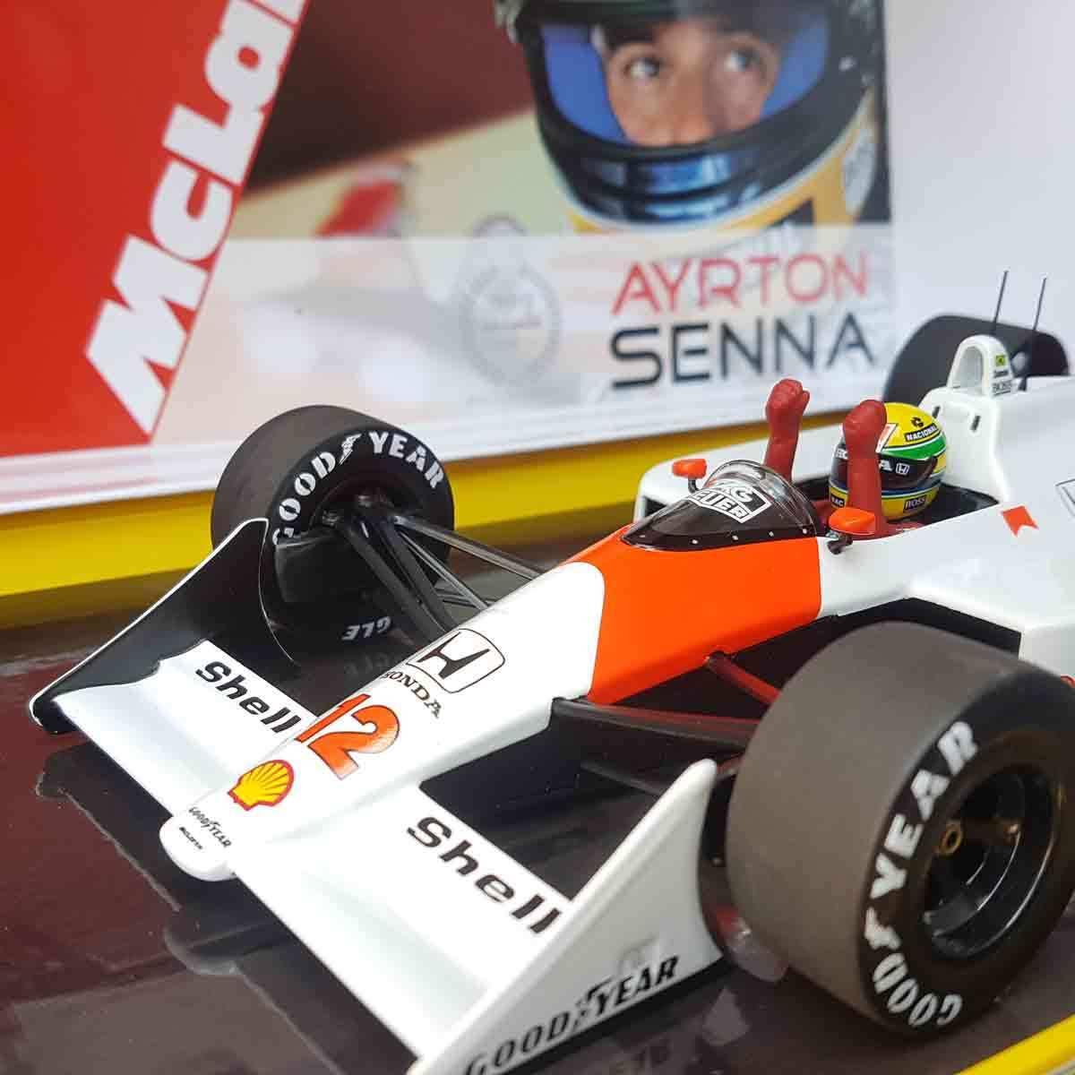 Minichamps McLaren MP4/4 Honda 1988 Ayrton Senna Limited edition 1/43 Suzuka !! | Avoir à La Fois La Qualité De La Ténacité Et De Dureté  | Exceptionnelle  | Des Produits De Qualité,2019 New