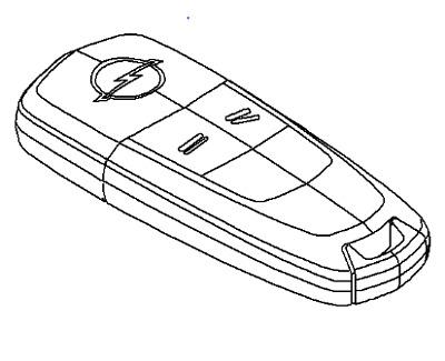 90540743 Vauxhall Capteur-Véritable NEUF