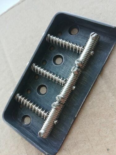 Short version telecaster ashtray vintage guitar bridge