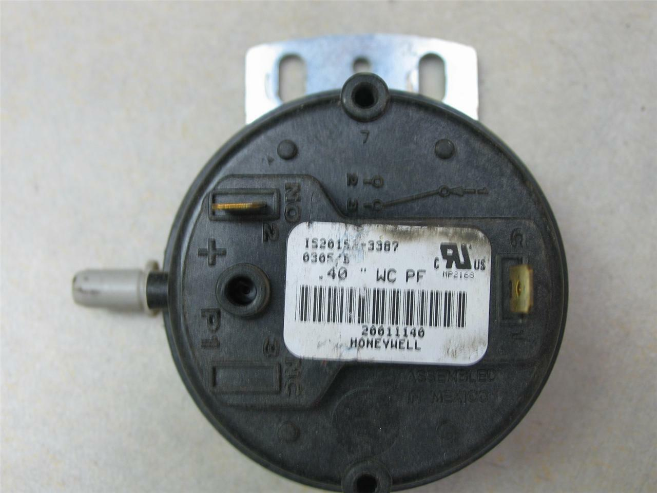 Honeywell 20011140 Furnace Air Pressure Switch Is20152 3387 Ebay Carrier Bryant Hh84aa011 Control Circuit Board Norton Secured Powered By Verisign