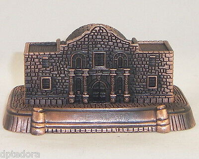 SOUVENIR METAL BUILDING  THE ALAMO