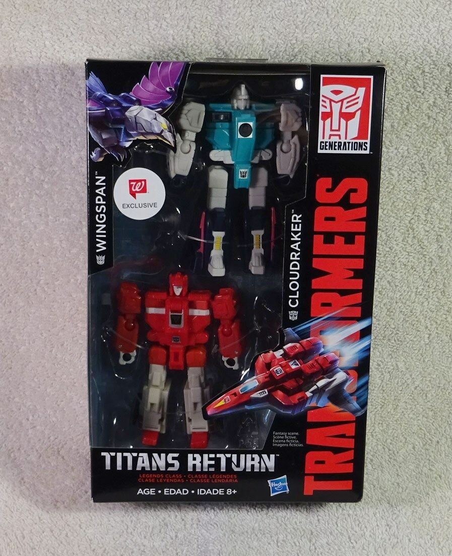Transformers Titans Return Wingspan and Cloudraker Wallgreens Exclusive Exclusive Exclusive MIB NEW c17239