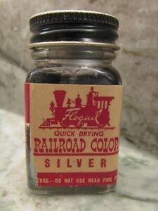 FLOQUIL-RAILROAD-COLORS-MODEL-PAINT-by-TESTORS-1oz-1-OUNCE-SILVER