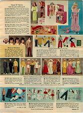1974 ADVERT 3 PG Sweet 16 Malibu Barbie Doll Ken PJ Bicycle Suprise House Pool