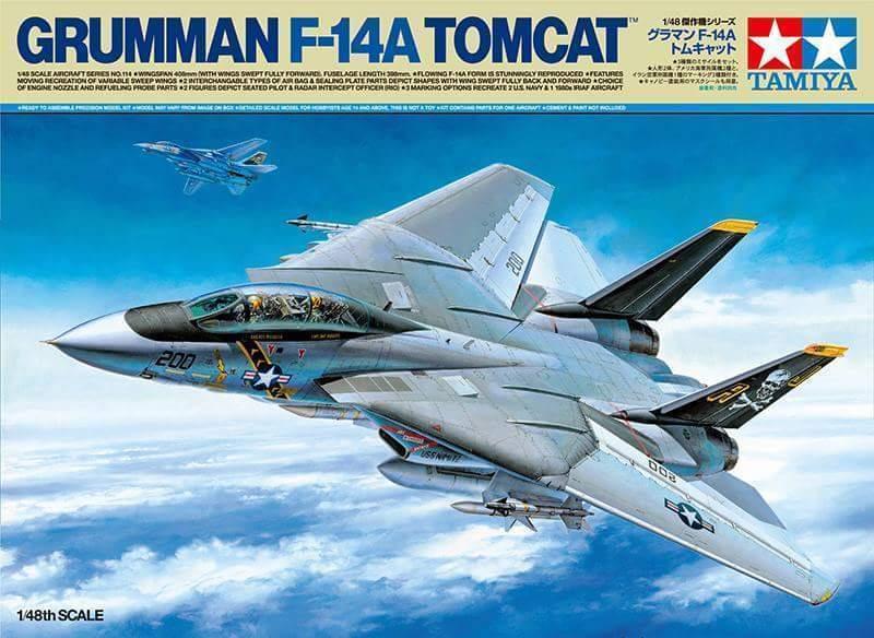 1/48 Tamiya Grumman F-14A Tomcat 61114